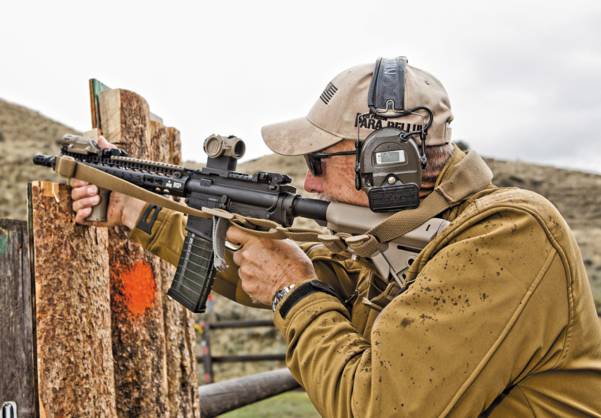 Ken Hackathorne shoots the AR GOLD Trigger