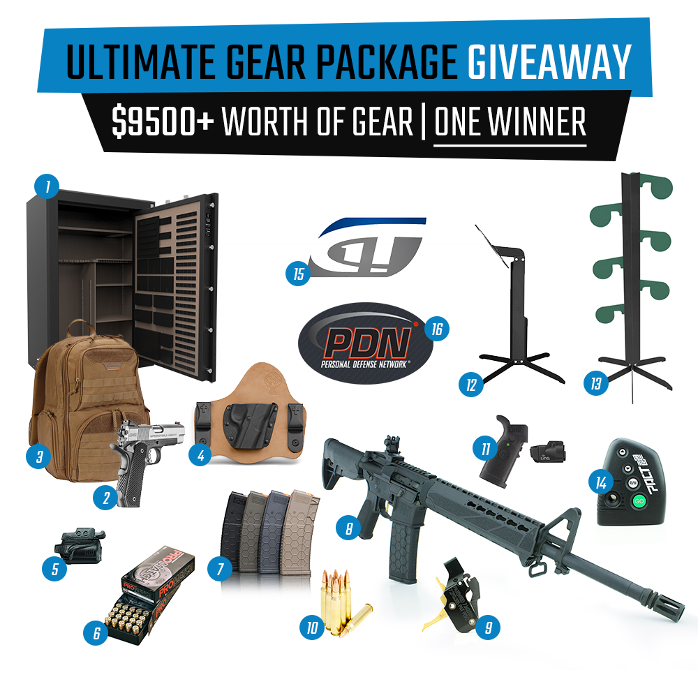 Ultimate Gear Package Giveaway Springfield American Trigger